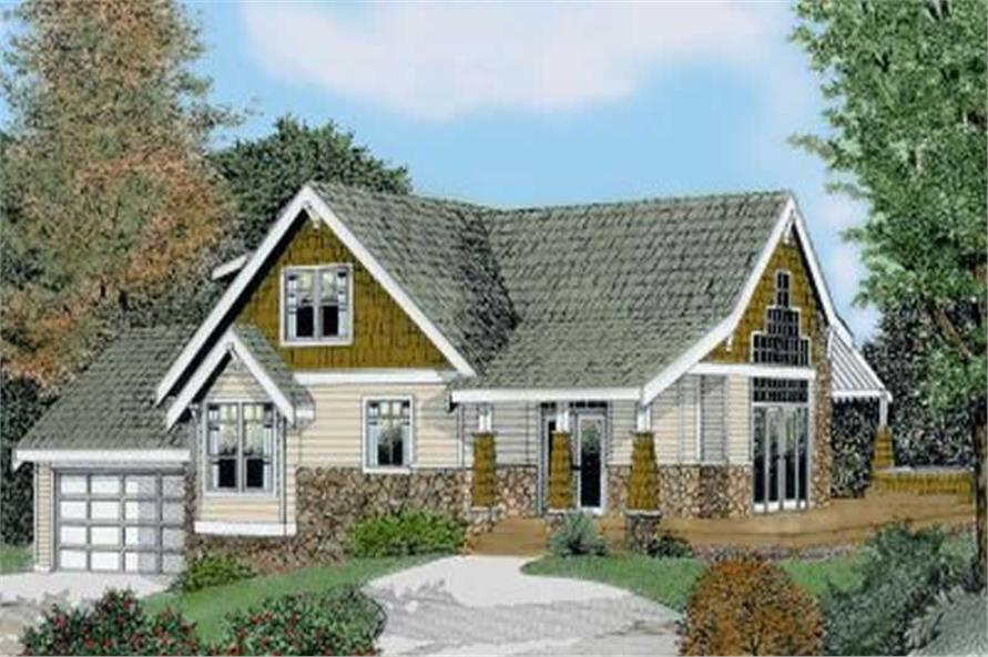 Main image for house plan # 2054