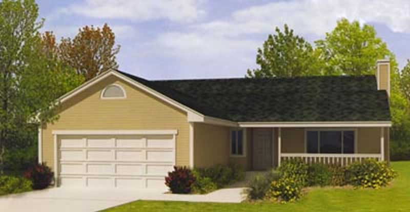 Small Country Ranch House Plans Home Design Ddi92 110