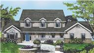 Main image for house plan # 2105