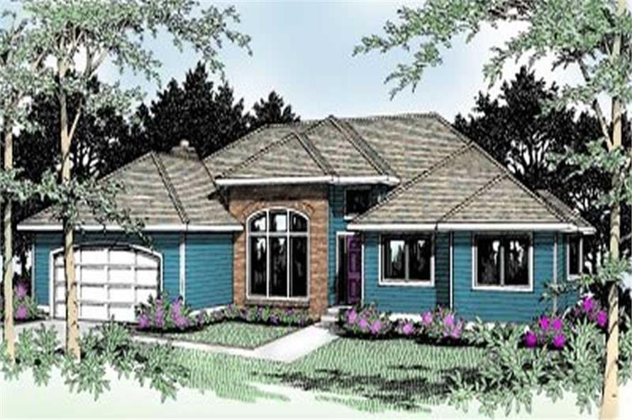 Main image for house plan # 2070