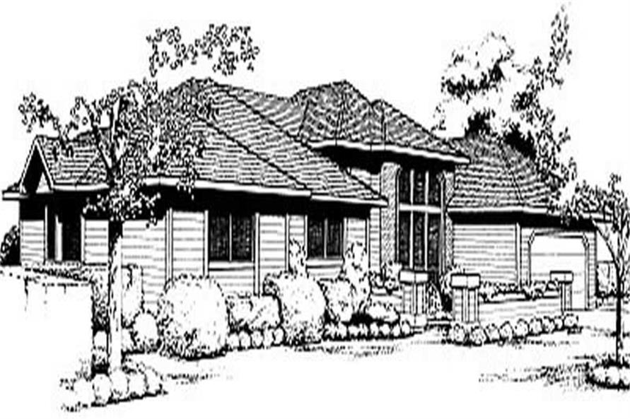 Main image for house plan # 2042