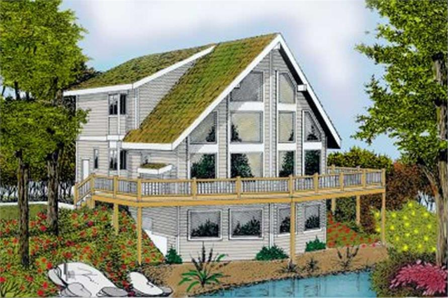 Home Plan Rendering of this 2-Bedroom,1770 Sq Ft Plan -119-1046