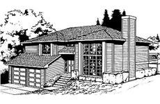 Main image for house plan # 1963