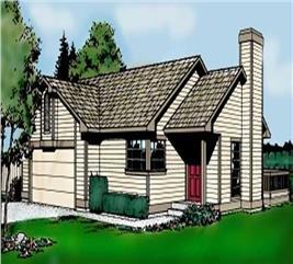 House Plan #119-1052