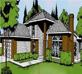 House Plan #119-1055