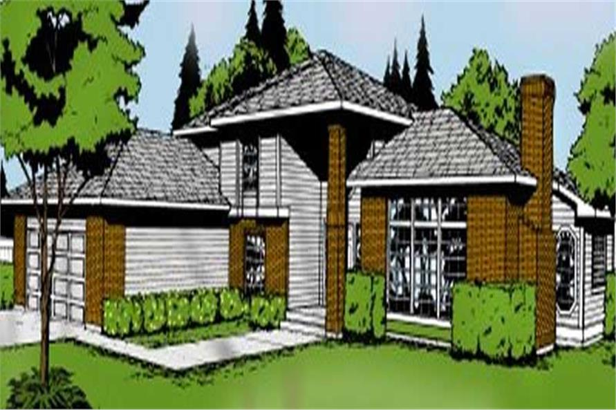 Main image for house plan # 2083