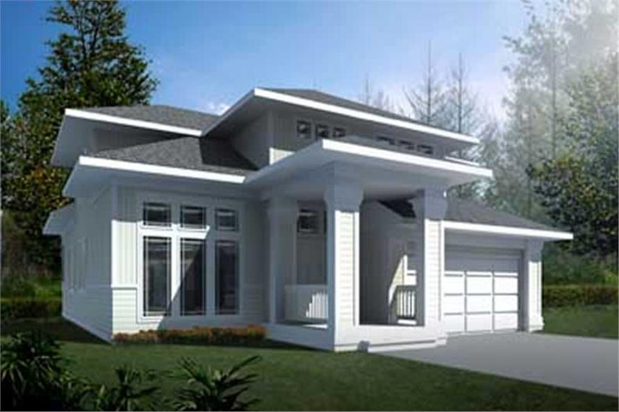 Main image for house plan # 2088