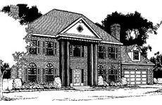 Main image for house plan # 2104