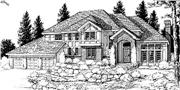 View house Plan#119-1064