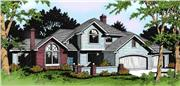 View house Plan#119-1068