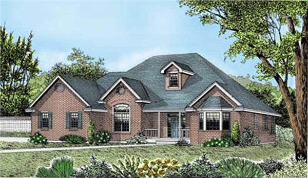 Main image for house plan # 2064