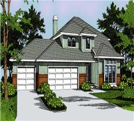 House Plan #119-1070
