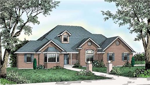 Main image for house plan # 2076