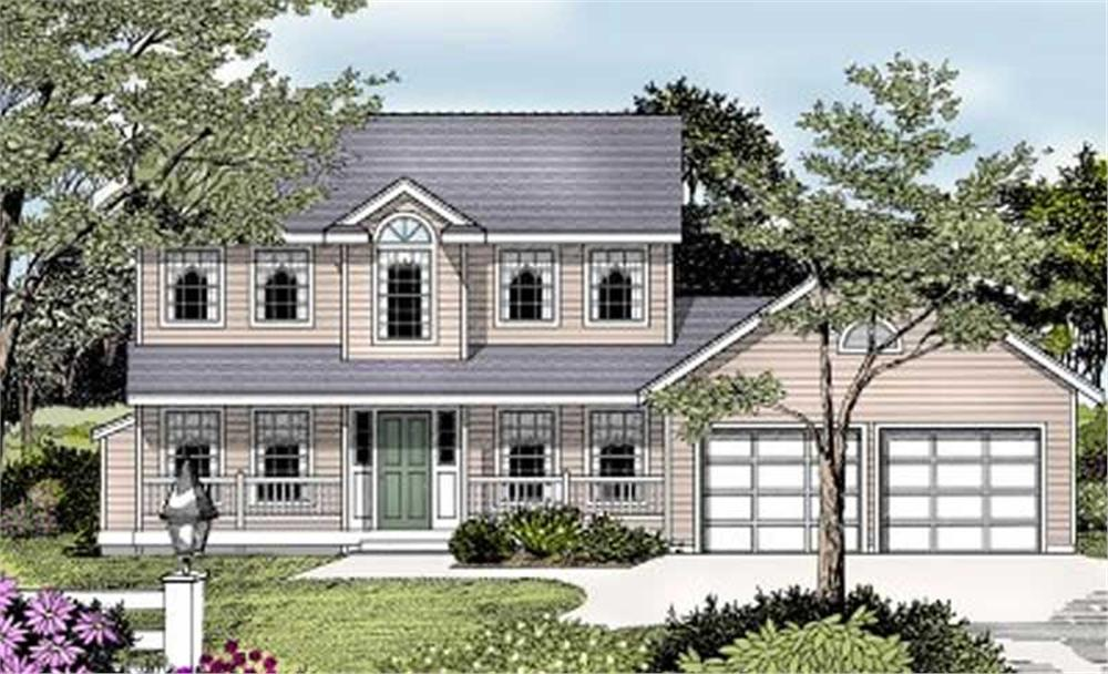 Main image for house plan # 2010