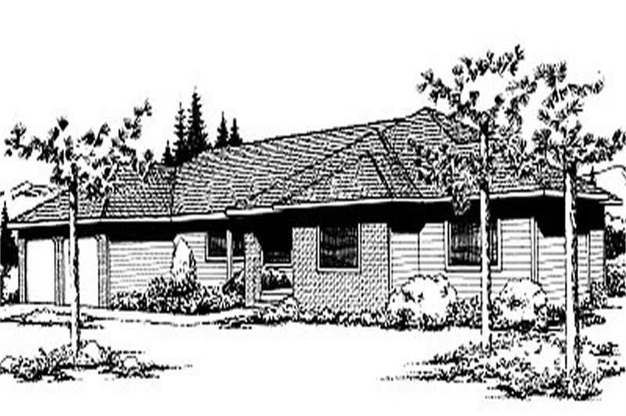 Main image for house plan # 2008