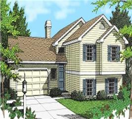House Plan #119-1085