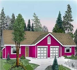 House Plan #119-1087