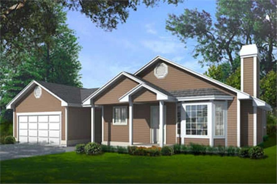 Main image for house plan # 1977