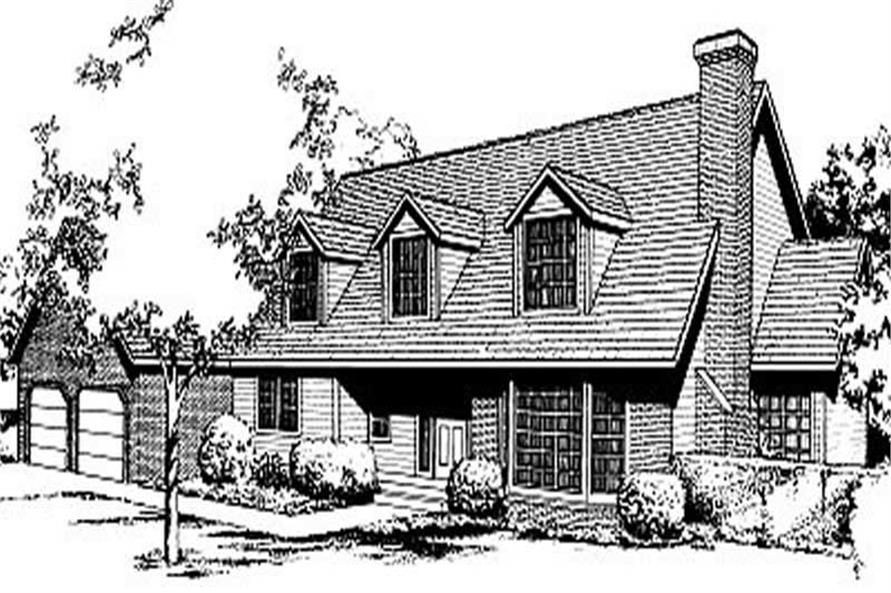 Main image for house plan # 2085