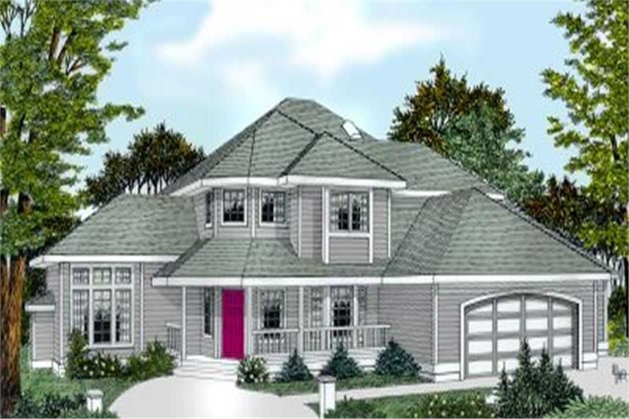 Main image for house plan # 2092