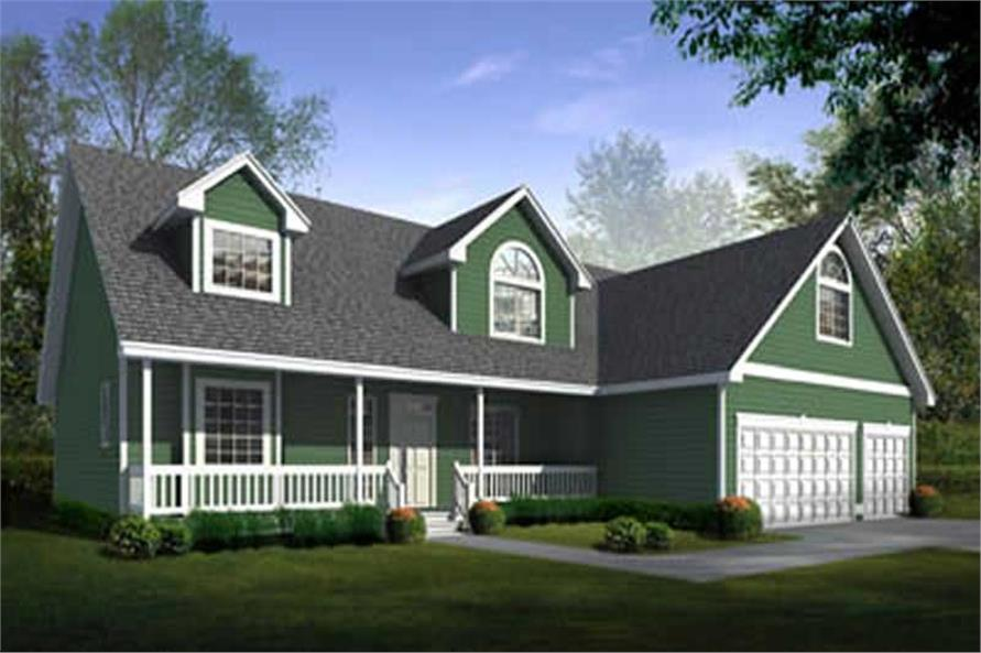 Main image for house plan # 2089