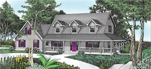 Main image for house plan # 2087