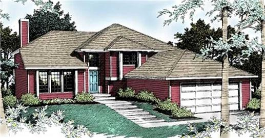 Main image for house plan # 2082