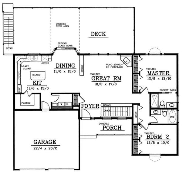 Empty Nest - House Plans, Home Plans, Home Floor Plans at