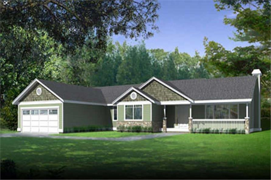 Main image for house plan # 2048