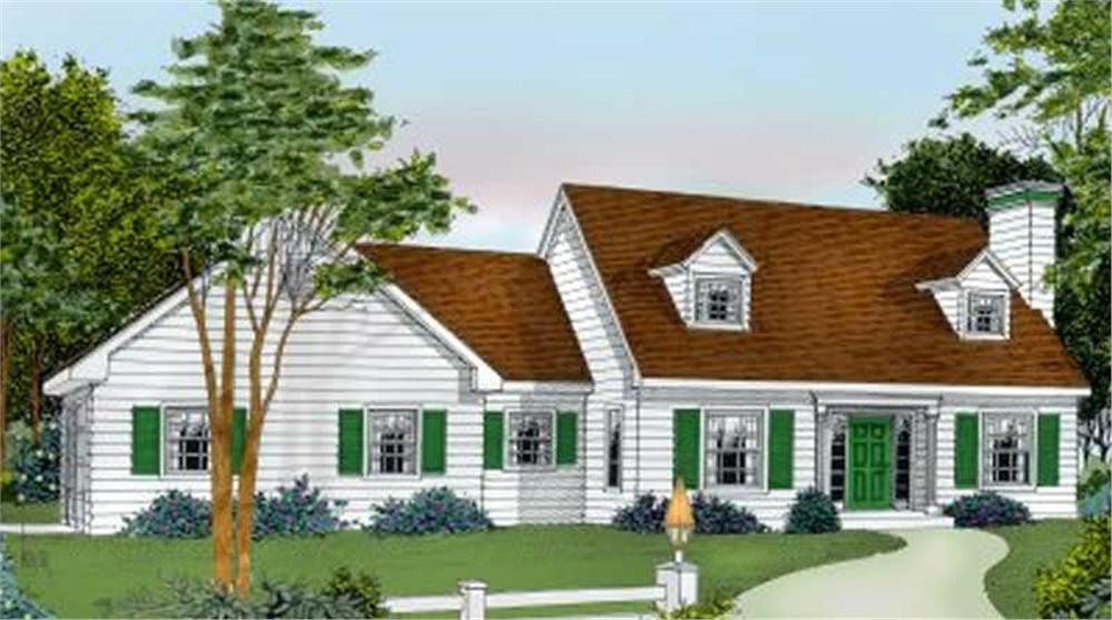 Main image for house plan # 2016