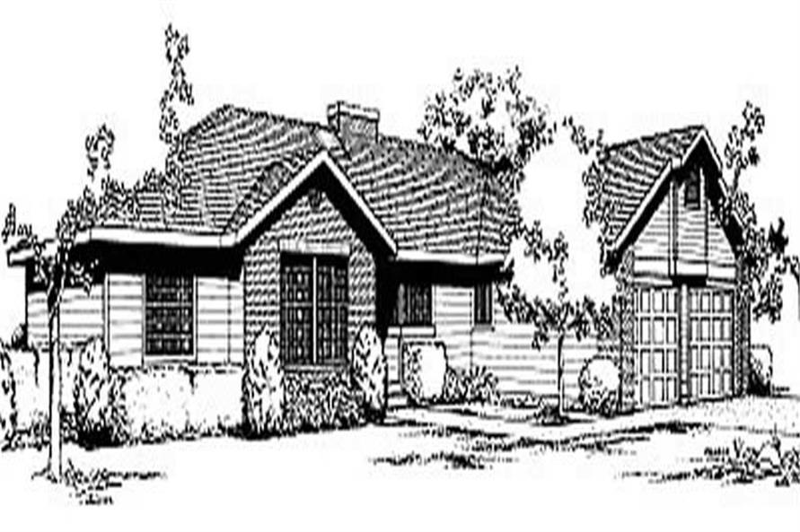 Main image for house plan # 1997