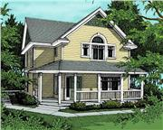 View house Plan#119-1121