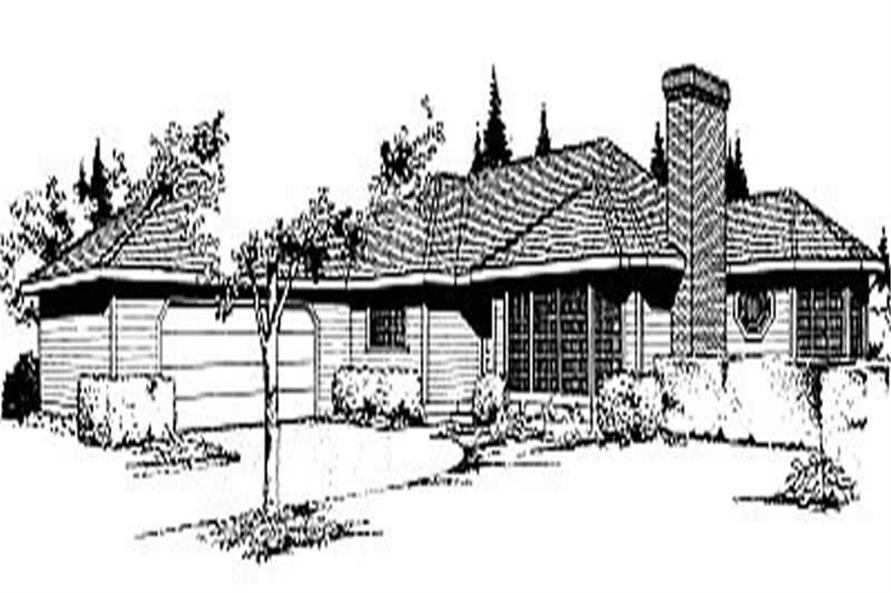 Main image for house plan # 2000