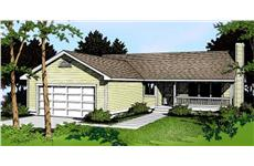 Main image for house plan # 1971