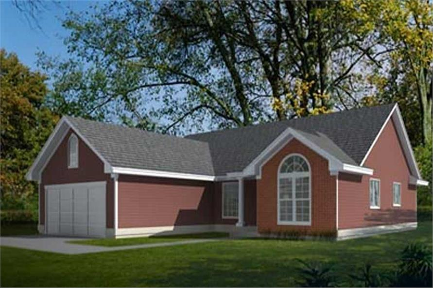 Main image for house plan # 2013