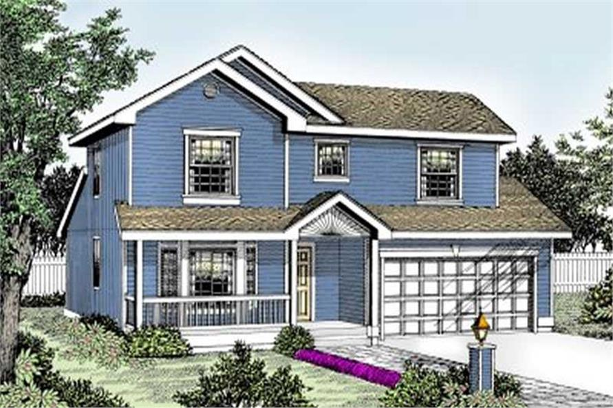 Main image for house plan # 1983