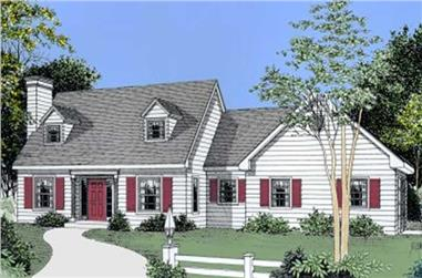 3-Bedroom, 1887 Sq Ft Country House Plan - 119-1133 - Front Exterior