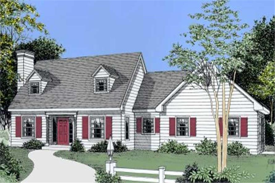 Main image for house plan # 2038