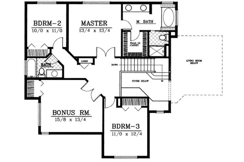 Traditional Country House Plans Home Design Ddi100 212
