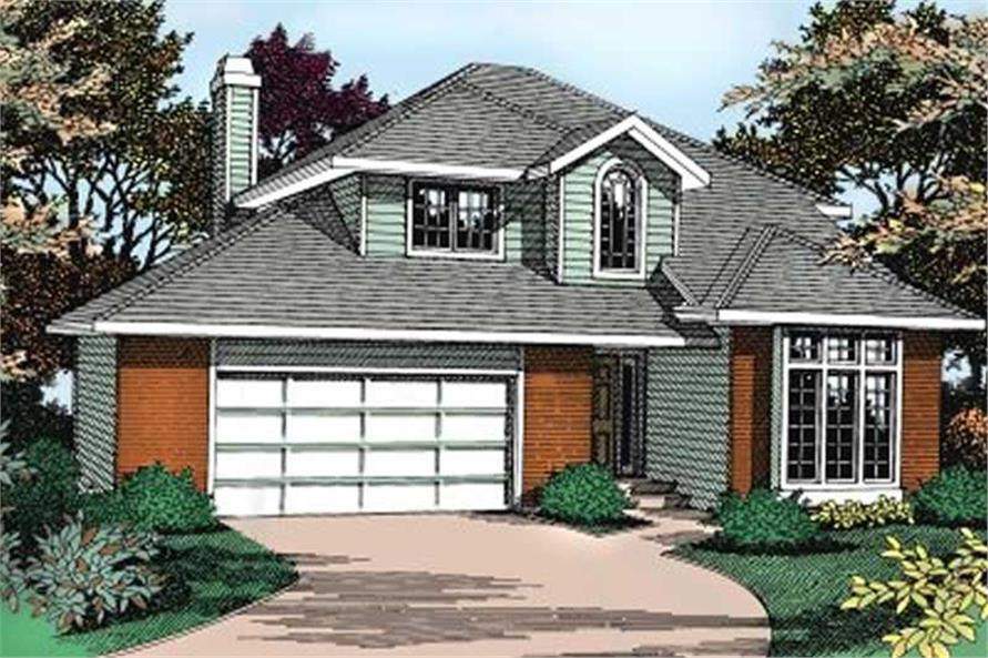 Main image for house plan # 2049