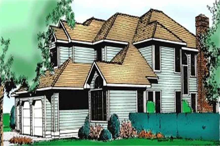 Main image for house plan # 2102