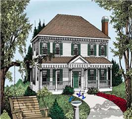 House Plan #119-1168