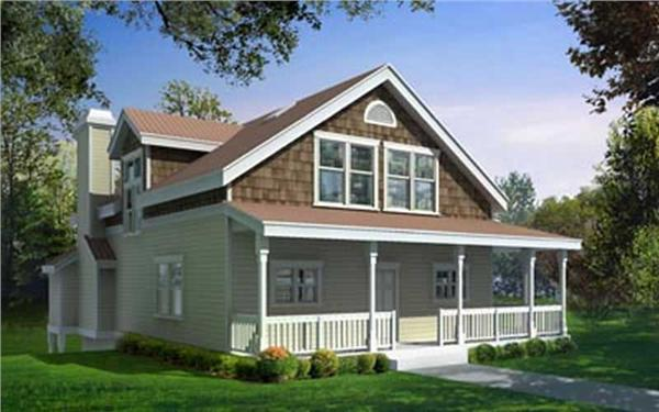 Main image for house plan # 2066