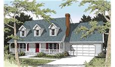 Main image for house plan # 2046
