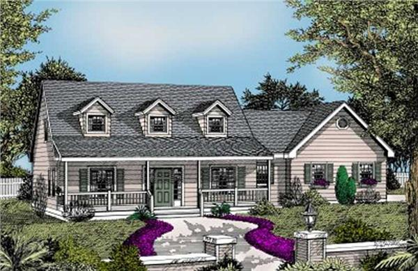 Main image for house plan # 2032