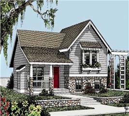 House Plan #119-1182
