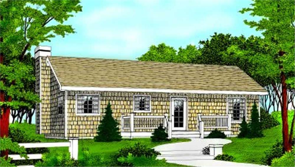 Main image for house plan # 1943