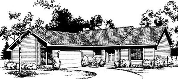 Main image for house plan # 1942
