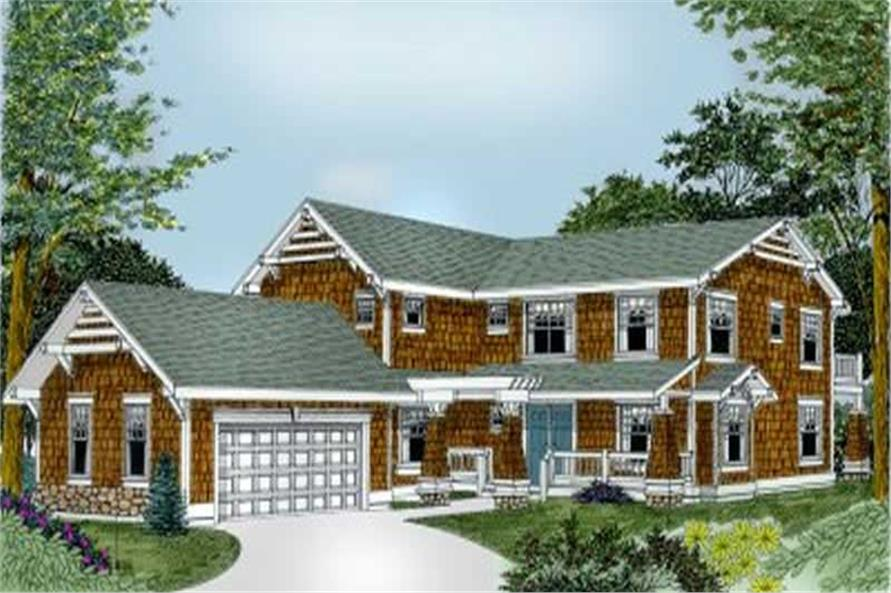 Main image for house plan # 2112