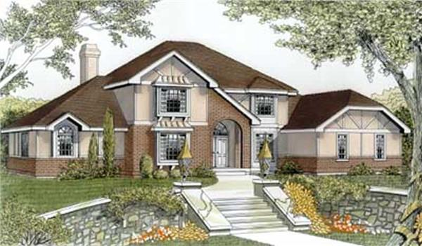 Main image for house plan # 2118
